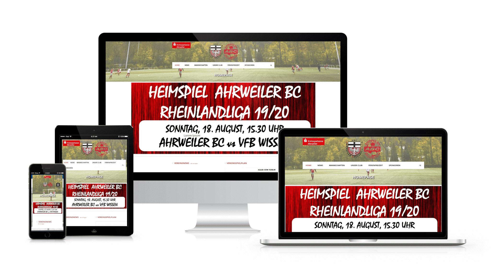 Ahrweiler Capomenia Webdesign