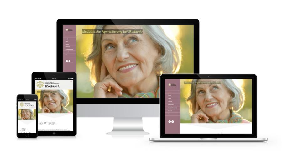 Brustskalbania . Capomenia Webdesign