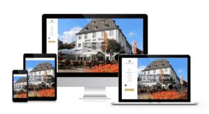 Hotelzumstern Capomenia Webdesign