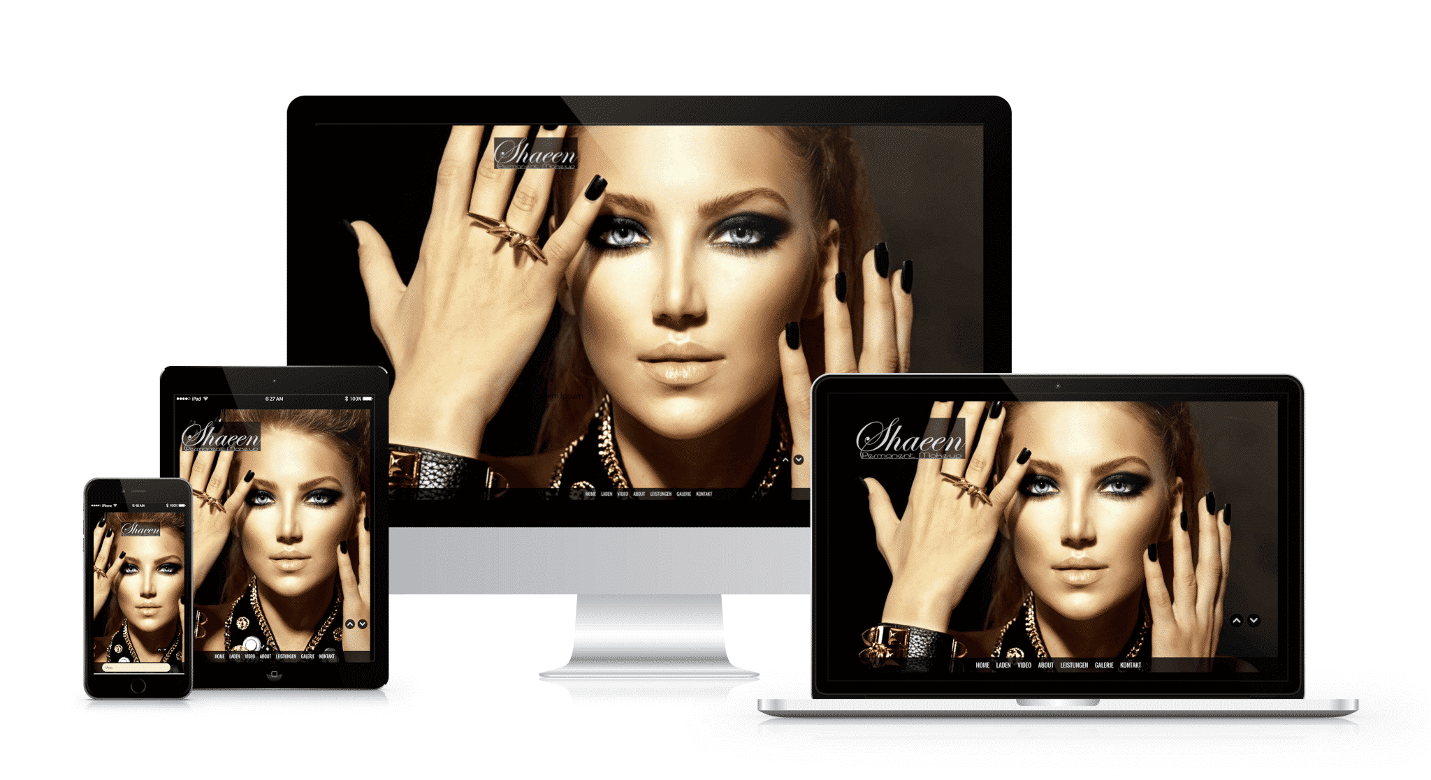Capomenia Permanent Make Up Webdesign